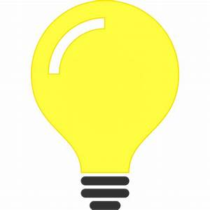 Clipart - Light Bulb Idea Icon