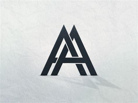aa logo  anton andersson andrejic dribbble