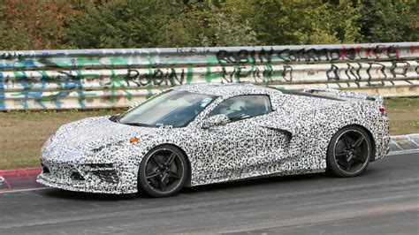 Chevy Corvette Mid Engine by Mid Engined Chevrolet Corvette C8 Testing At