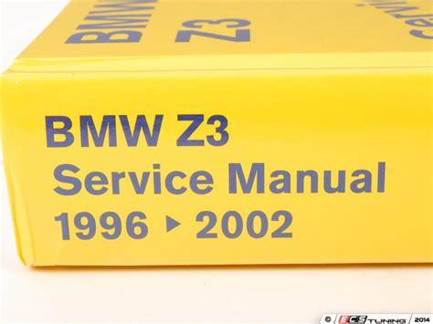 online service manuals 2001 bmw m on board diagnostic system bentley bz02 bmw z3 1996 2002 service manual