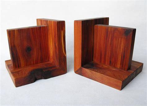 cedar wood bookends  woods  pinterest