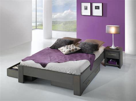 cadre chambre adulte cadre de lit ines avec tête de lit louisiane