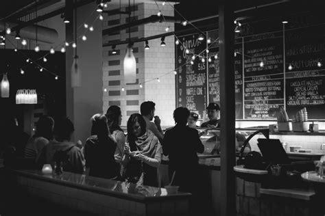 images cafe black  white night restaurant