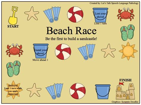 Sizzling Summer Themed Activities For Speech And Language