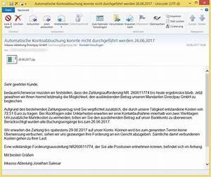 Pay Online Gmbh Rechnung : automatische kontoabbuchung konnte nicht durchgef hrt ~ Themetempest.com Abrechnung