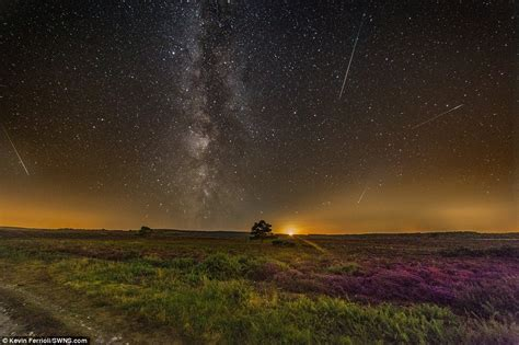 Best Time See Meteor Shower Tonight Image