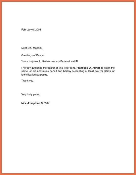 authorization letter template  birth certificate nso