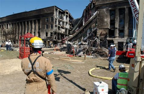 Body Parts From 911 Attack On The Pentagon Were Treated