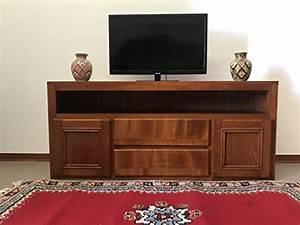 Meuble Tv Ethnique : meuble tv salon mural quip e ethnique en bois massif artisanale fait la main au maroc shabby ~ Teatrodelosmanantiales.com Idées de Décoration