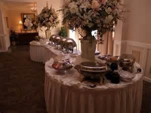Wedding Reception Buffet Table Ideas