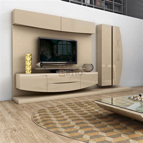 meuble rangement cuisine composition murale meuble tv design moderne laquée elisa