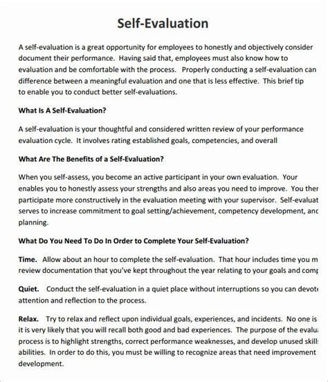 employee  assessment template