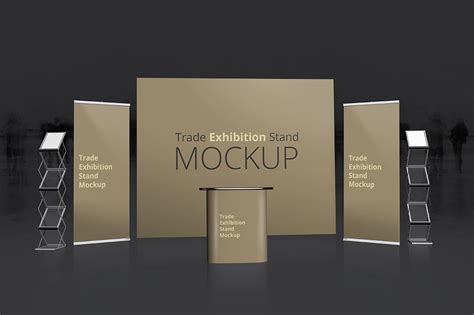 trade exhibition stand mockup dealjumbocom discounted