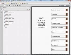 Harley Davidson Softail  2007  Service Manual