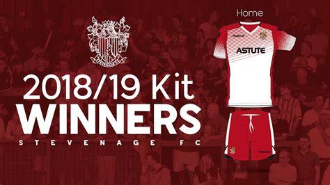 revealed stevenage fc  kit designs news