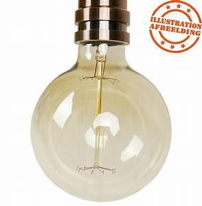 Suspension Ampoule Vintage : suspension ampoule vintage bubul big filament ~ Dode.kayakingforconservation.com Idées de Décoration