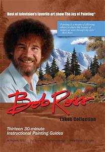 Bob Ross Joy Of Painting: Lakes 3 DVD Collection