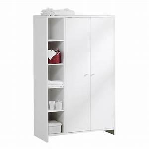 Armoire De Bébé : armoire chambre b b et enfant luna meuble de qualit ~ Melissatoandfro.com Idées de Décoration