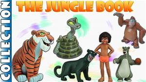 Disney The Jungle Book Collection || Surprise Eggs ...