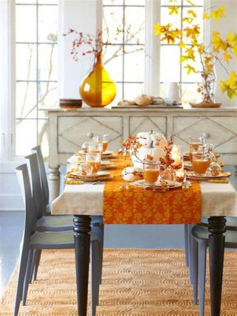 Dining Room Table Decorating Ideas For Fall by Ideas For Easy Thanksgiving Decorating Decorilla