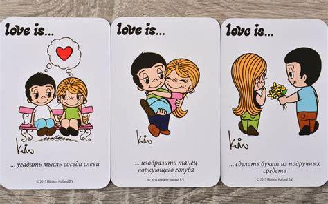 Фанты Love Is купить можно тут  Мосигра Москва