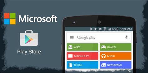 play store gratis para microsoft 535 kommentar eine microsoft android version macht das