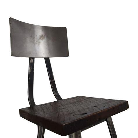 78% Off  Custom Metal High Bar Stool Chairs