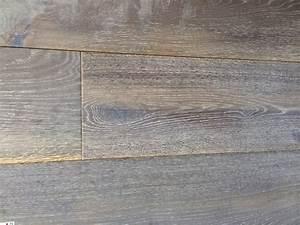 parquet massif parquet flottant multi plis avec couche d With parquet cérusé gris