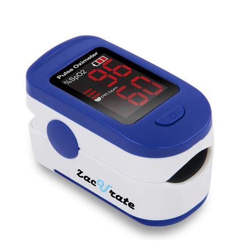 Zacurate® Fingertip Pulse Oximeter, Batteries & Lanyard