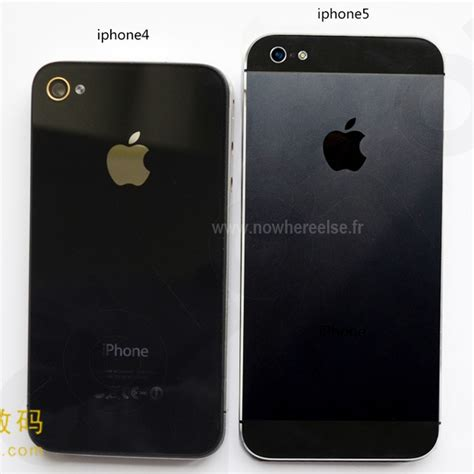 iphone 4 vs iphone 5 more iphone 5 pictures surface show size comparison to