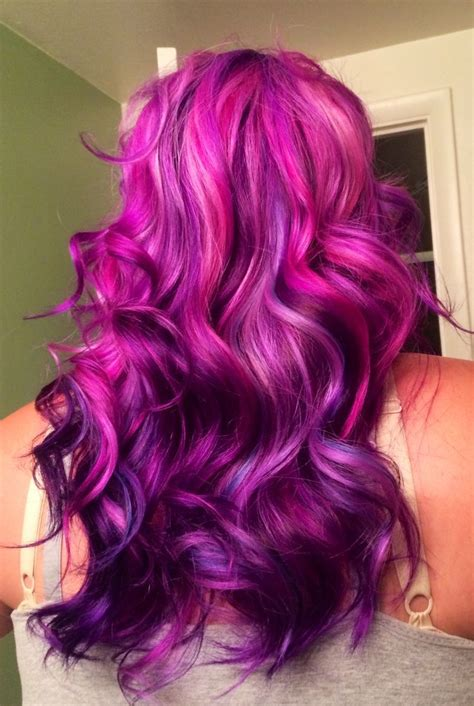 Hair Color by How To Dye Your Hair Purple Purple Hair Ombre And