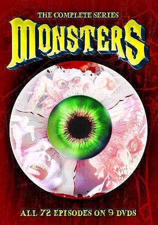 Monsters: The Complete Series (DVD, 2014, 9-Disc Set) for ...