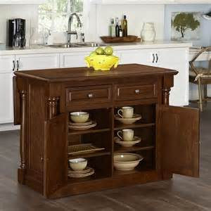 kitchen island wood top kitchen island with wood top in oak 5006 944