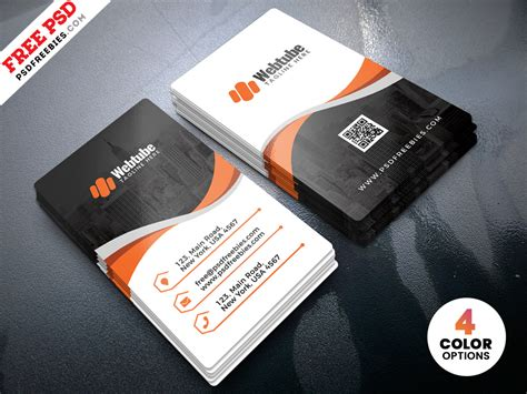 vertical business card template photoshop vertical business cards templates psd psdfreebies