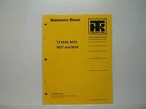 Thermo King T3 M34 M35 M37 M39 Flexible Motor Coach Manual