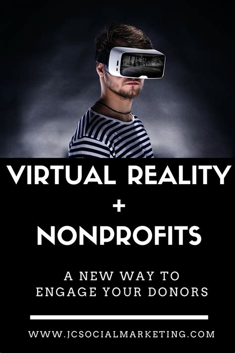 Virtual Reality And Nonprofit Marketing  A New Way To