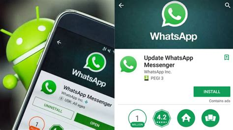 how android users ended up downloading whatsapp update play store newsx