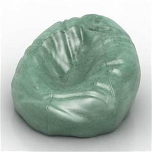 Chairs, Tables, Sofas 3D Models Armchair Bean Bag