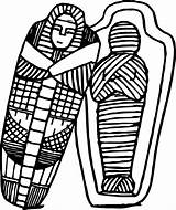 Sarcophagus Coloring Egyptian Pages Wecoloringpage Ancient sketch template