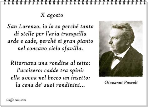 Poesia M Illumino D Immenso Testo by Pascoli X Agosto M Illumino D Immenso Citazioni
