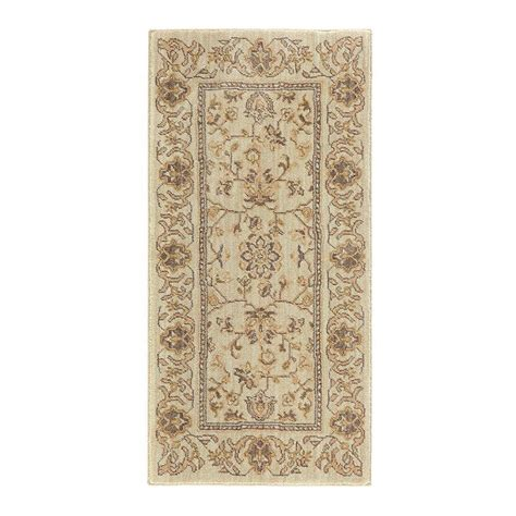 home decorators collection jackson beige 2 ft x 4 ft accent rug 509255 the home depot