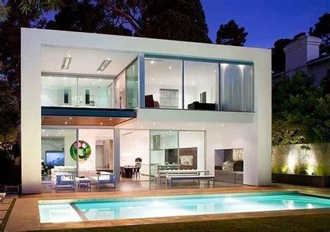 denah rumah mewah  kolam renang kolam renang