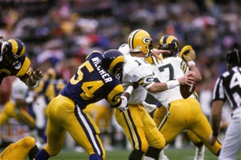 green bay packers  los angeles rams dvd classic