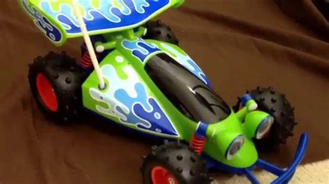 Thinkway Pixar Toy Story Rc Car Wireless Remote Control