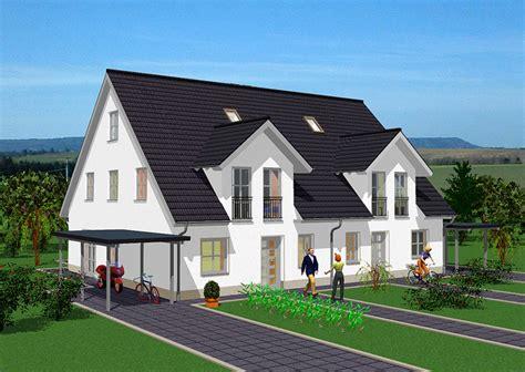 Zweifamilienhaus 2 Eingängen by Doppelh 228 User In Massivbauweise Gse Haus
