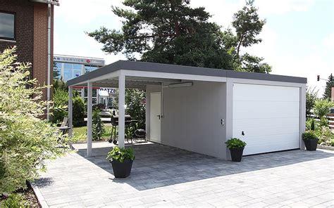 garage und carport kombination fertiggaragen preiswert und flexibel mc garagen