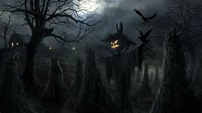 Halloween Backgrounds Wallpapers Scarecrow Holiday Pixelstalk