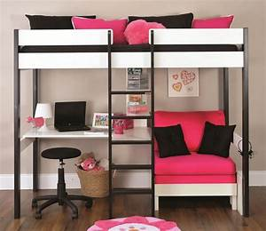 Couch bunk bed with amazing functions that you can use for Bunk beds with futon and desk