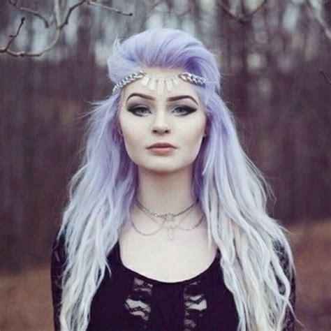 Pastel Goth Purple Hair Ombre Hair Hairspray