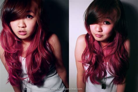 Hair In Pink Ombre Hair Colors Ideas
